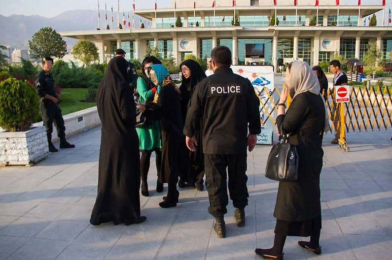 Women in Iran are systematically oppressed. More than 4300 people have been executed in Iran under Hassan Rouhani's tenure. They include 110 women.