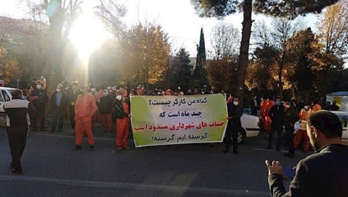 Iran: Dozens of Strikes, Protests by Workers and Low-Wage Earners