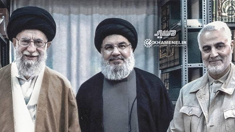 Hassan Nasrallah meets Ali Khamenei and Qassem Soleimani in Iran