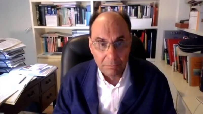 Alejo Vidal-Quadras speaks in the Online Panel
