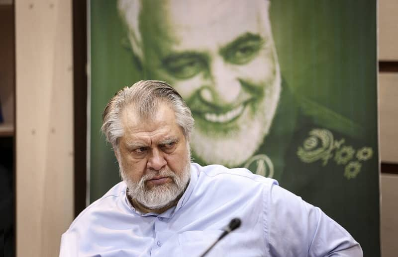 "Nader Talebzadeh, head of the ""New Horizon"" organization, a front organization of the Revolutionary Guards (IRGC)"