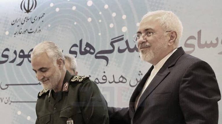 Iran's Chief Apologist Zarif Confirms His Ties With Qassem Soleimani and His Role in Terrorism