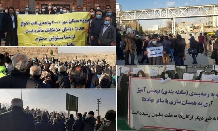 Protests Continue Across Iran, Indicating Society's Restiveness