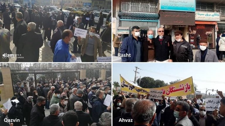 Iran: Thousands of Retirees Gather in 17 Provinces and 22 Cities To Protest Low Wages and Poor Living Conditions