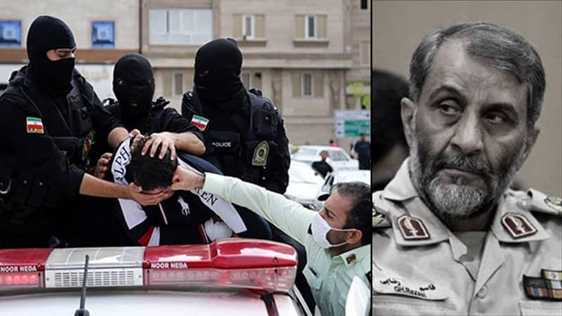 The State Security Force deputy commander Brig. Gen. Qassem Rezaei