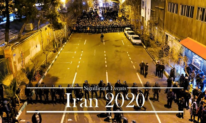 Iran: Significant Political Events of 2020