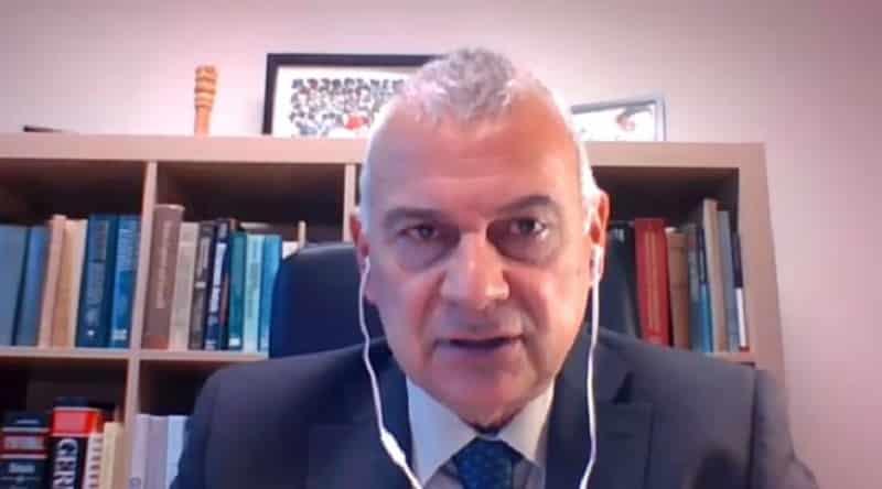 Paulo Casaca speaks in the Online Panel