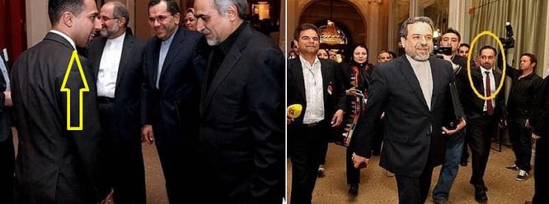 Trita Parsi berbicara dengan pejabat senior Iran. Parsi memiliki hubungan dekat dengan mereka