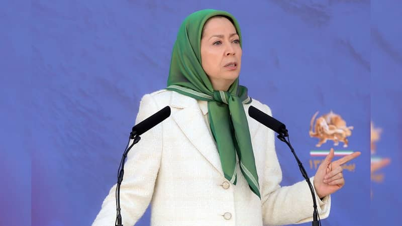 Maryam Rajavi is the president-elect of the National Council of Resistance of Iran (Siavosh Hossein, The Media Express)