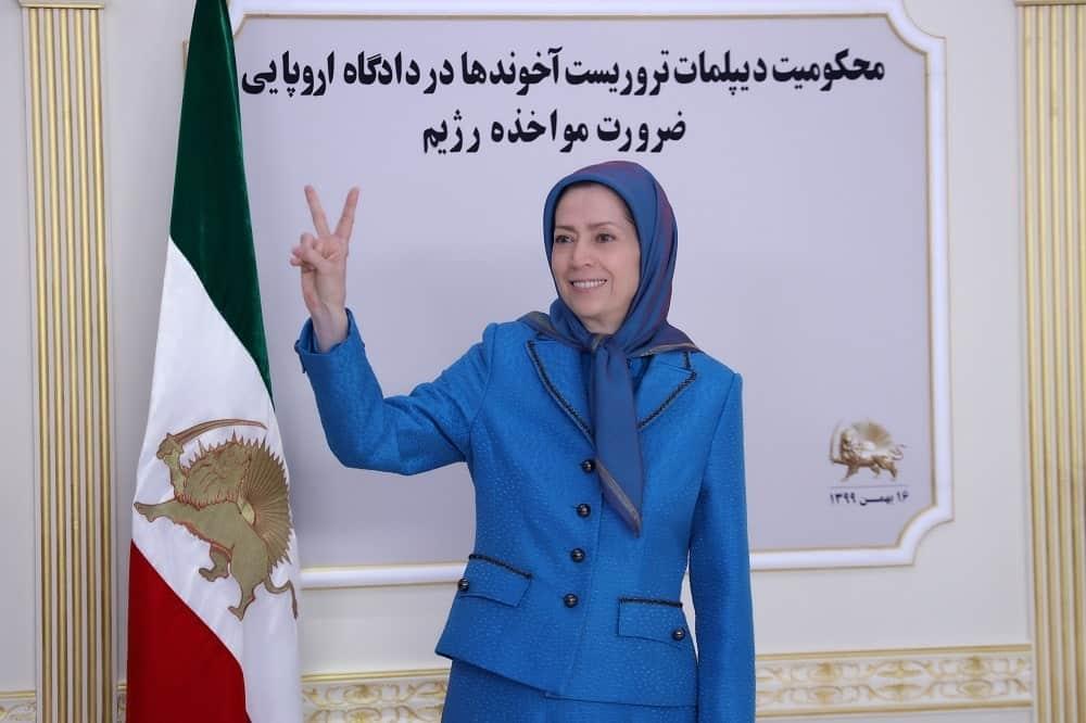 Maryam Rajavi, Presiden terpilih dari Dewan Nasional Perlawanan Iran (NCRI)