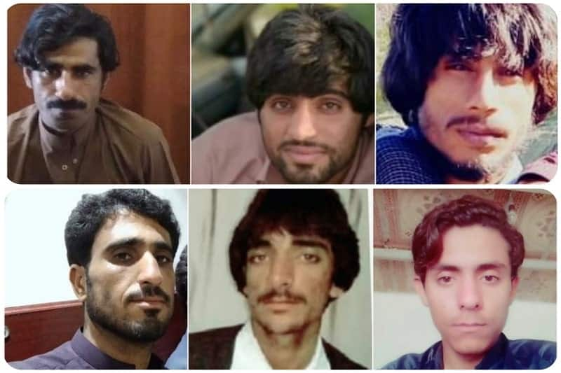 Pictures of a number of Baloch citizens who were killed during today's shooting by the IRGC forces in Sistan and Baluchestan Province, south west Iran