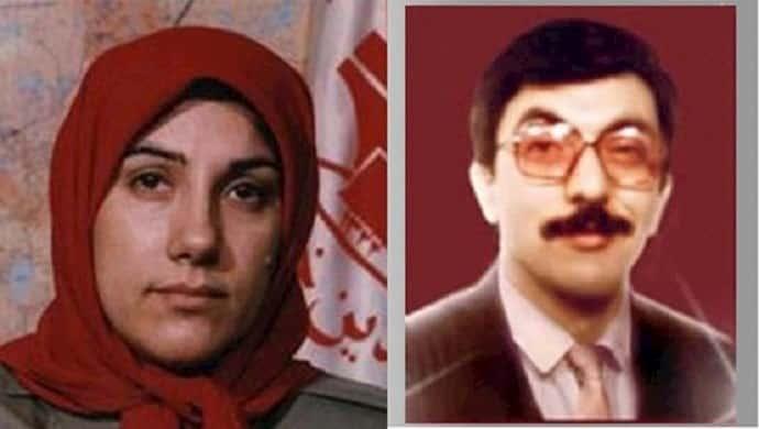 Zahra Rajabi (left) and Ali Akbar Ghorbani (right), two MEK members assassinated by the Iranian regime in Turkey