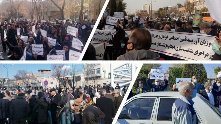 Core Message of Retirees' Protests in Iran: A Restive Society
