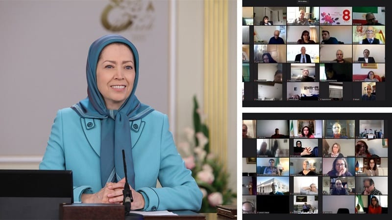As the world marked International Women's Day on Monday, the NCRI's Women's Committee held an online conference on women's situation in Iran.