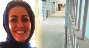 Tahanan politik Maryam Akbari Monfared