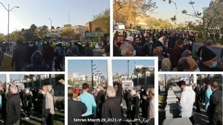 Iran: Protest Gatherings Against The Unpatriotic Agreement With China