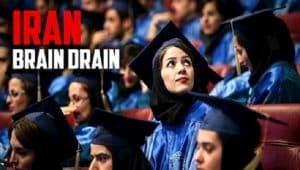 Di bawah pemerintahan para mullah, Iran telah menjadi pemegang rekor pelajar elit yang meninggalkan negara itu