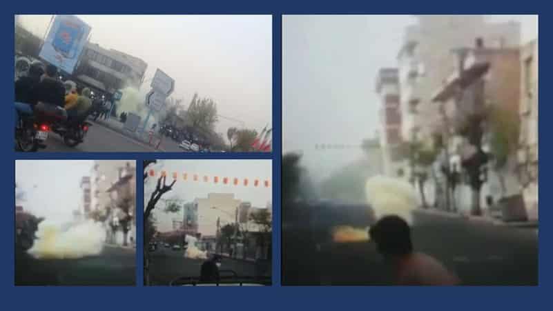 Tehran – Scenes of explosions in various parts of Tehran – March 16, 2021