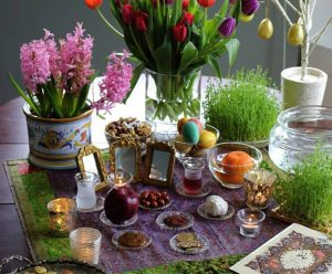Iranians celebrate Nowruz with traditional festivals, and it has been a national holiday since the rule of Cyrus the Great (538 BC). Historically, the celebration was to mark the victory of the Zoroastrian God, Ahura Mazda over the evil spirit, Ahriman. Due to the regime's mismanagement, this year, Iranians are bearing the brunt of a collapsed economy, some paying for bread in installments and standing in long lines for basic food items.