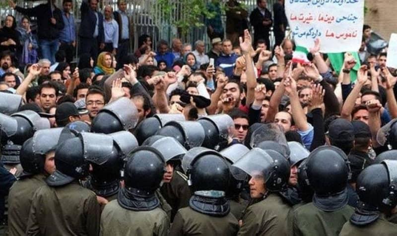 Protest in Iran (file photo)