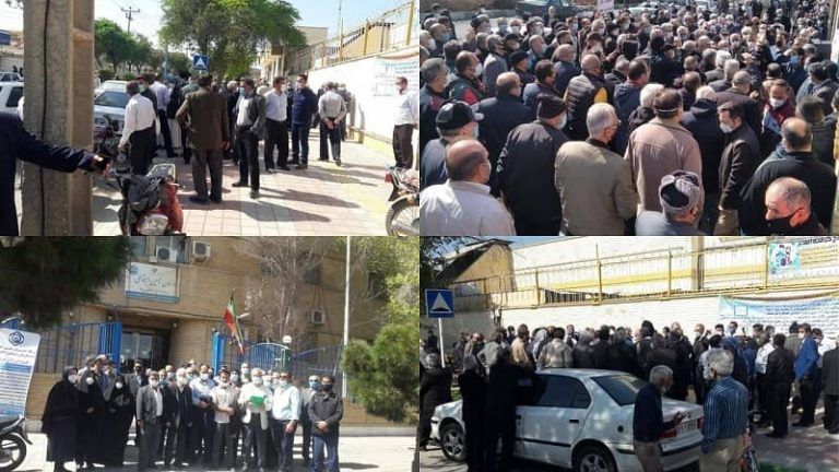 Iran: Pensioners Protests in 21 Provinces and 28 Cities Enters 7th Week, Protesters Beaten, Arrested in Tehran