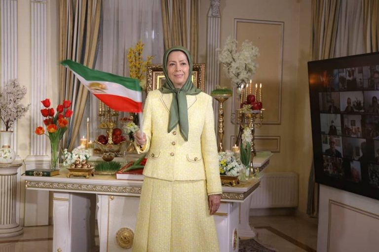 Nowruz, the New Iranian Year, 1400, Celebrated With Mrs. Rajavi's Remarks