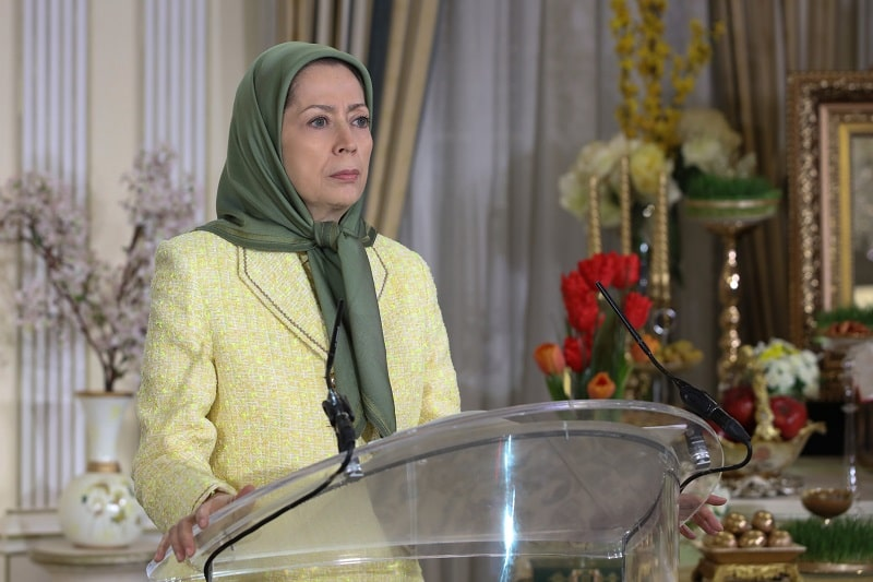 Maryam Rajavi: The Iranian people's nationwide boycott of the regime's election is the flip side of popular uprisings