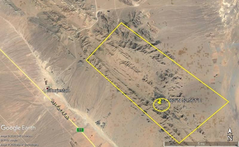 Satellite Imagery: The General Area of Abadeh Site