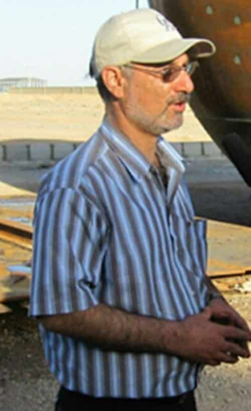 Dr. Saeed Borji, a top explosives and high-impact specialist