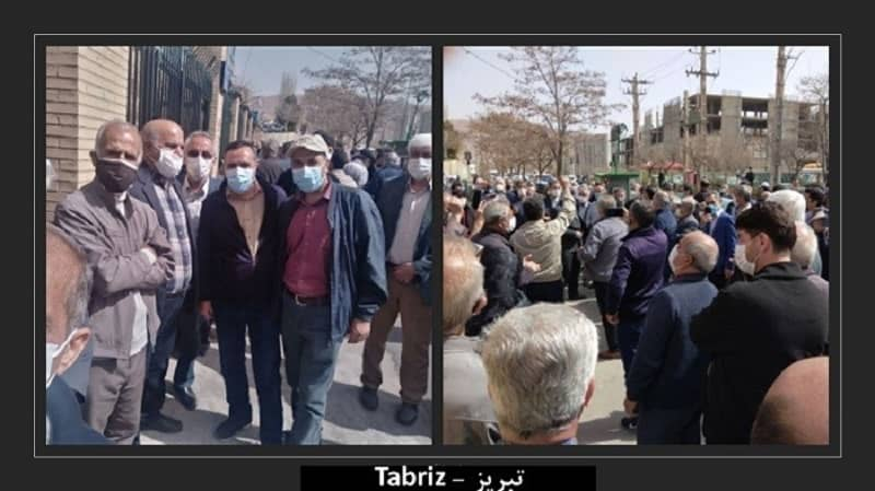 protest-pensioners-Tabriz-Iran
