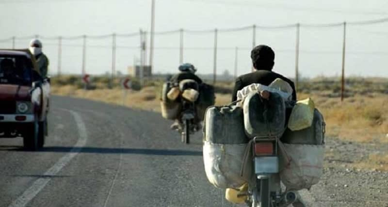 Fuel traders in Sistan and Baluchestan in Iran