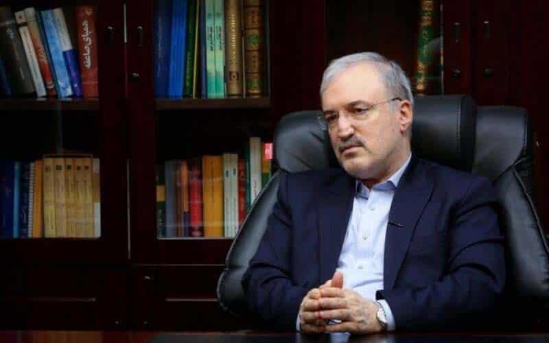 Iranian regime Health Minister Saeed Namaki