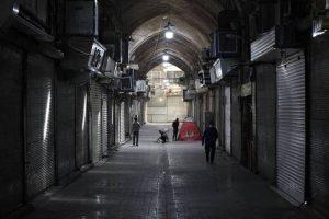 Korban tewas akibat virus korona Iran, Teheran Bazar