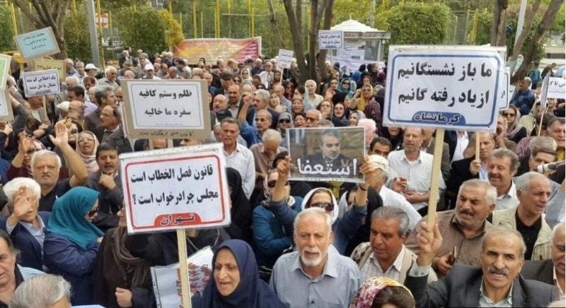 Iran-pensiunan-pensiunan-protes