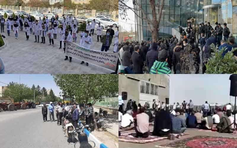 Iranians-Continue-Protests-at-Least-19-Rallies-and-Strikes-from-April-19-to-22