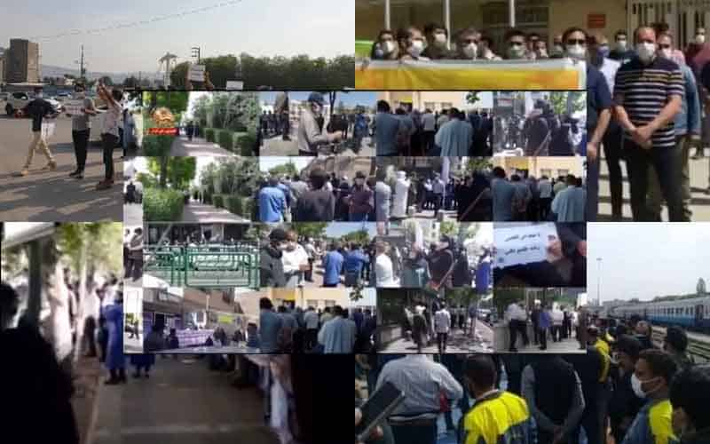 Iranians-Continue-Protests-at-Least-22-Rallies-and-Strikes-on-April-25