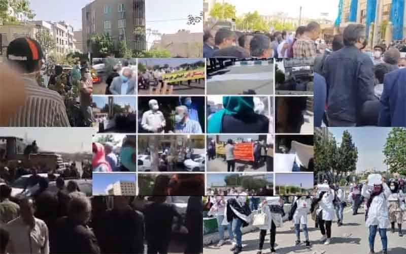 Iran-Terus-Protes-Setidaknya-59-Aksi-dan-Pemogokan-dari-April-14-ke-18