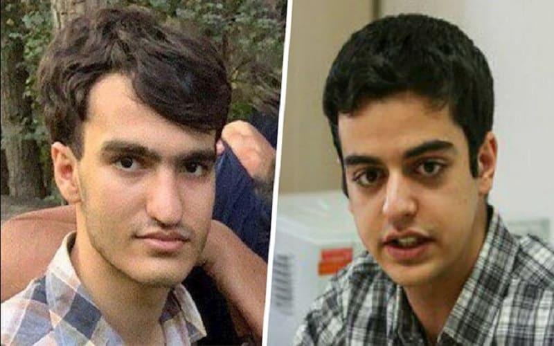 Political-prisoners-Ali-Younesi-and-Amir-Hossein-Moradi