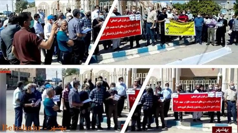 Iran: The Retirees' Nationwide Protests With Significant Presence Of Women