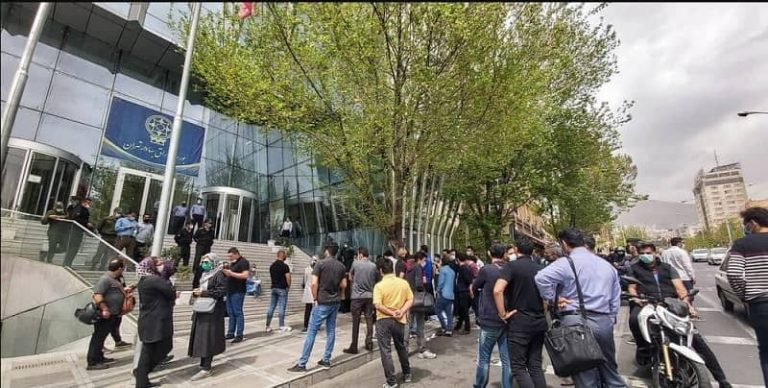 Iran Stock Market Crisis and Subsequent Protests