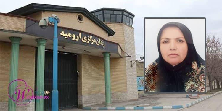 Entrance of the Central Prison of Urmia- inset: Mohabat Mahmoudi