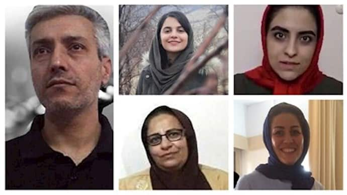 Political prisoners, Saeed Sangar, Forough Taghipour, Parastou Moini, Zahra Safai, and Maryam Akbari Monfared are in prison on charges of supporting the MEK.