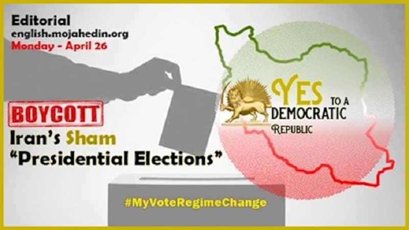 Iran's sham presidential elections 2021