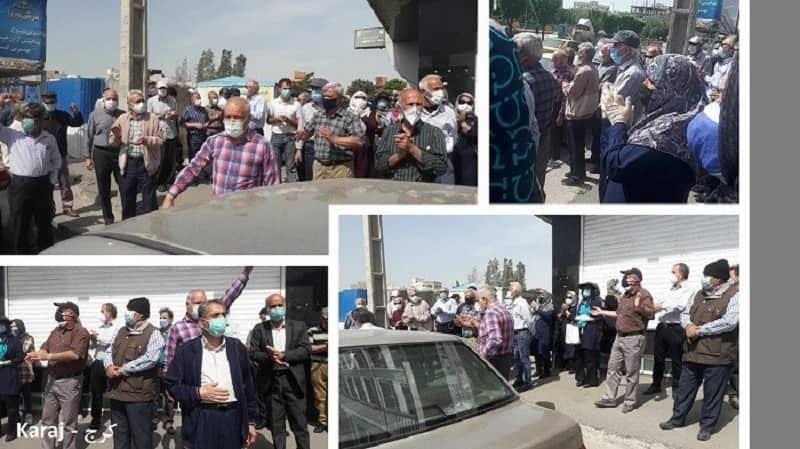 karaj-iran-protests-25042021