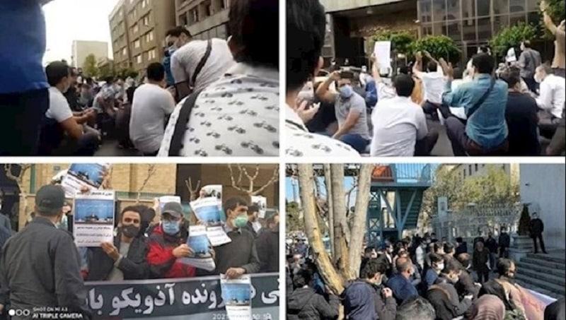 Protests in Iran - April 24-25, 2021