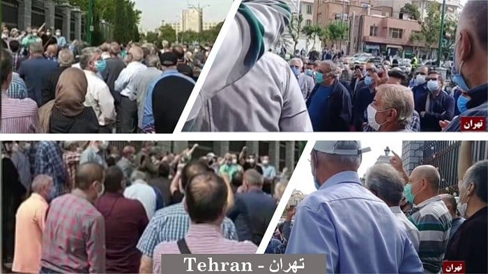 Iran: Retirees Protest for the Third Time in the Persian New Year in 27 Cities (20 Provinces)