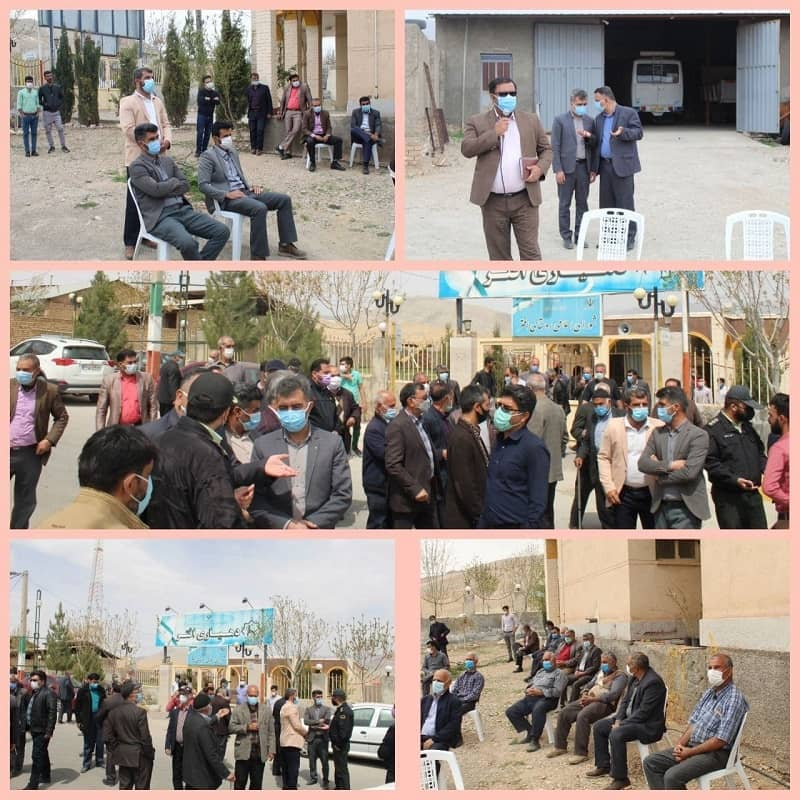 villagers of Aftar in Semnan protest2