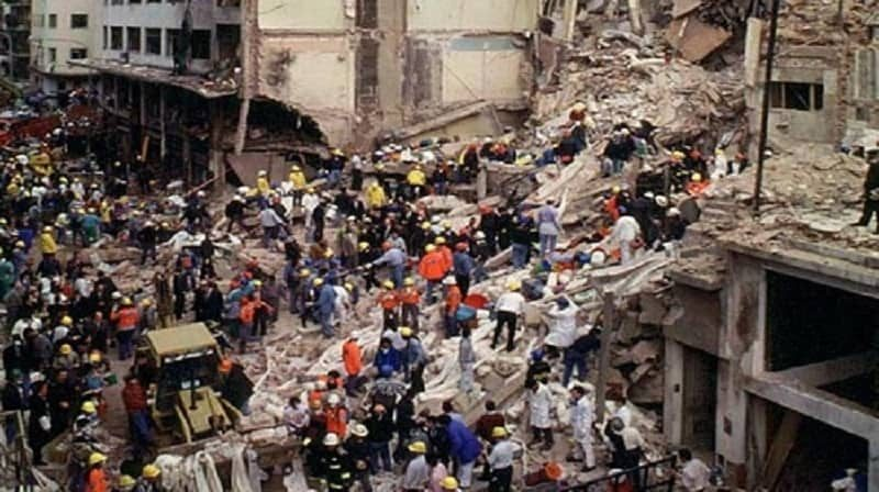the 1994 bombing of the AMIA center in Buenos Aires, Argentina