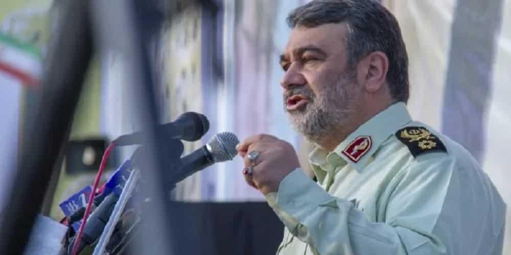 Iran-Kepala Polisi-Hossein-Ashtari