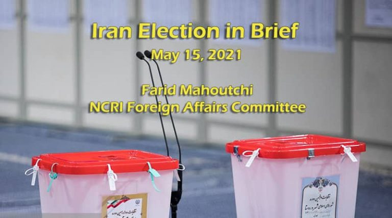 Iran Election in Brief – May 15, 2021